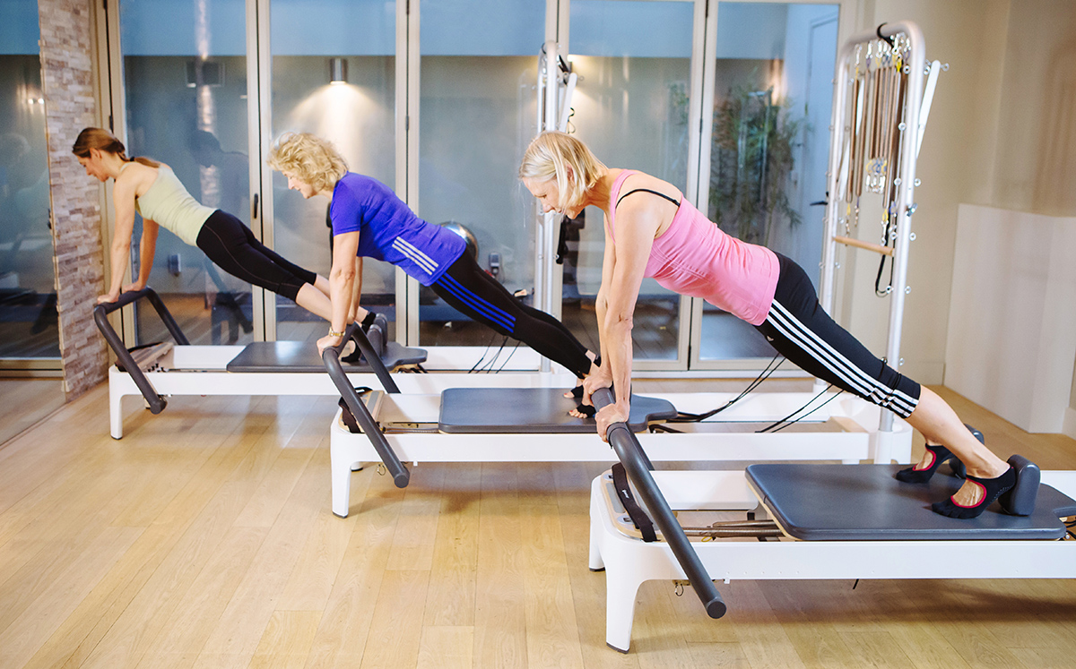 Pilates for the Advanced The highest level of training requires a thorough development of mental and physical awareness, with a reliable knowledge of your own inner strengths. Not every trainee is made to reach this level. If you are, however, you and your trainer will know by intuition.
